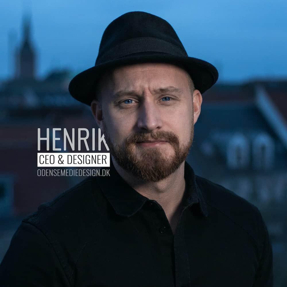 Henrik Jørgensen fra Odense medie design